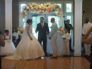 Congratulations  Mr. And Mrs. Francis !